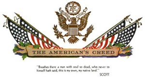 theamerican'screed